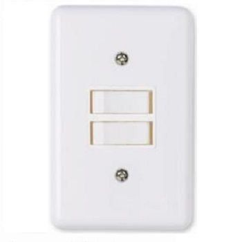 Conjunto Stylus 1 Interruptor Simples +1 Interruptor Paralelo 2023 Ilumi