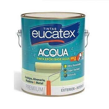 Tinta Epóxi  Base Àgua Branco 3,6 Litros Eucatex