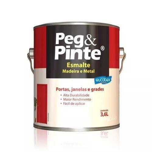 Esmalte Brilhante Marfim Galão 3,6 Litros Peg Pinte