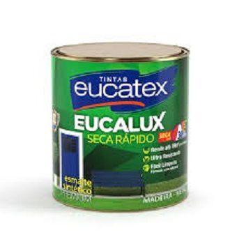 Esmalte Seca Rápido Brilhante Premium Branco 225ml Eucatex