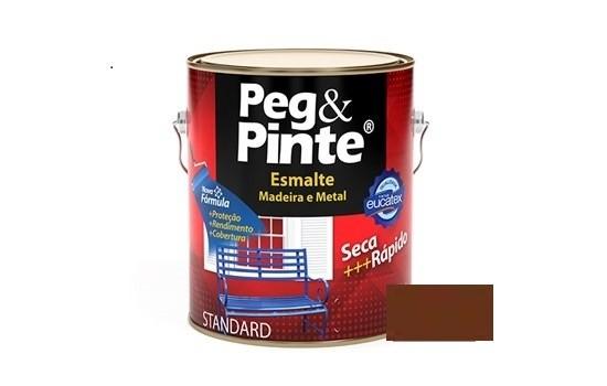 Esmalte Peg & Pinte Brilhante Tabaco 3,6 Litros Eucatex