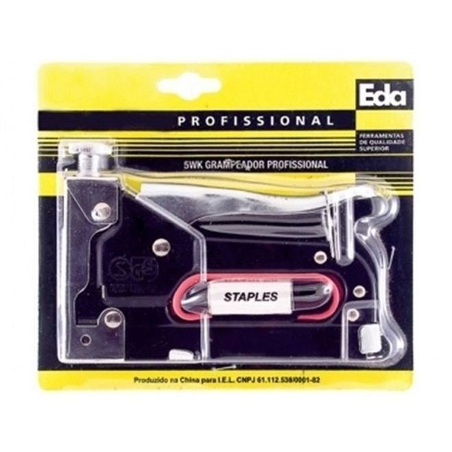 Grampeador Profissional Metal 5Wk Eda