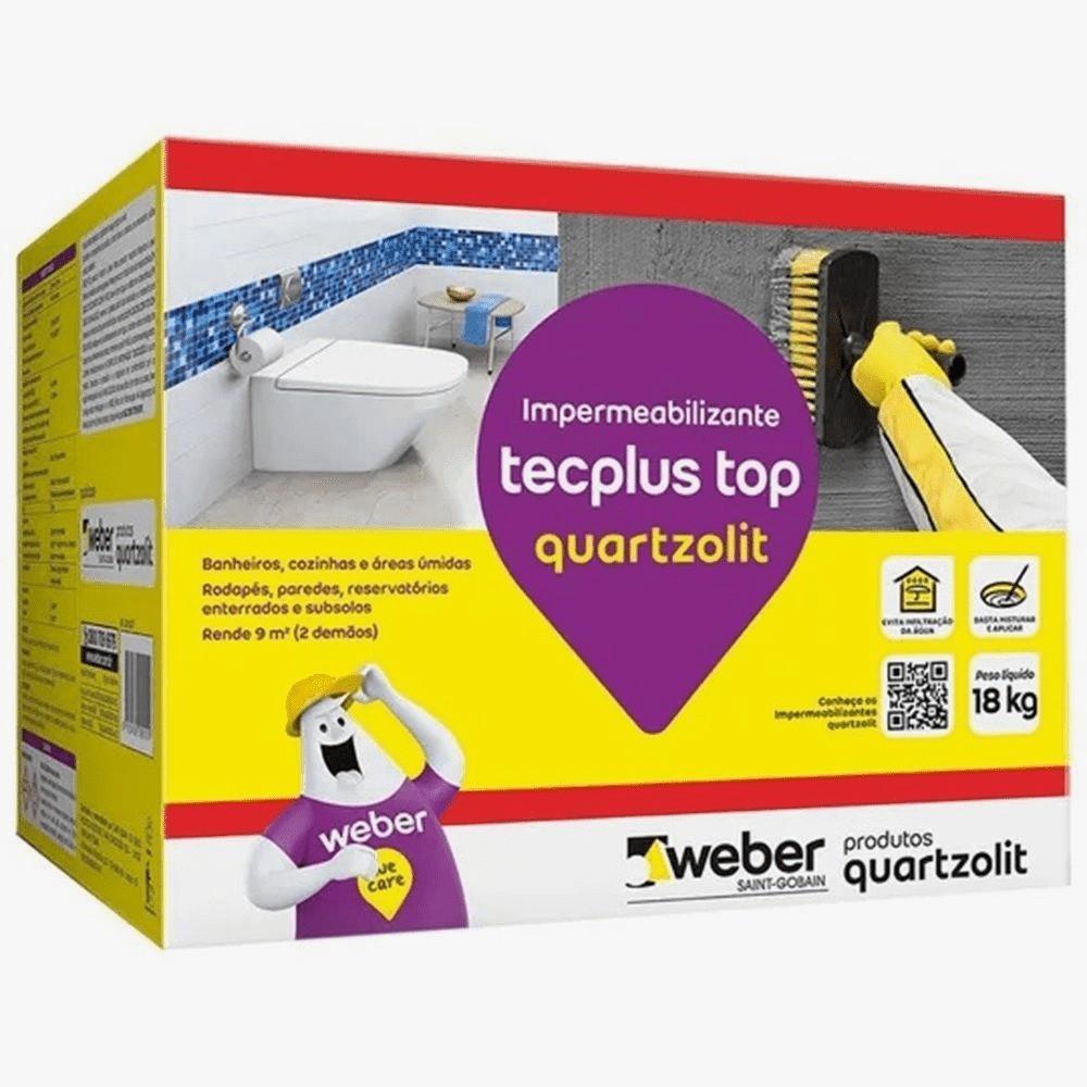 Impermeabilizante Tecplus Top 18kg Quartzolit