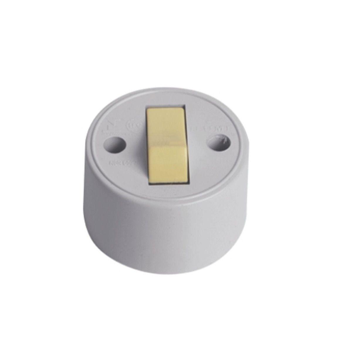 Interruptor Externo Redondo 1755 Ilumi