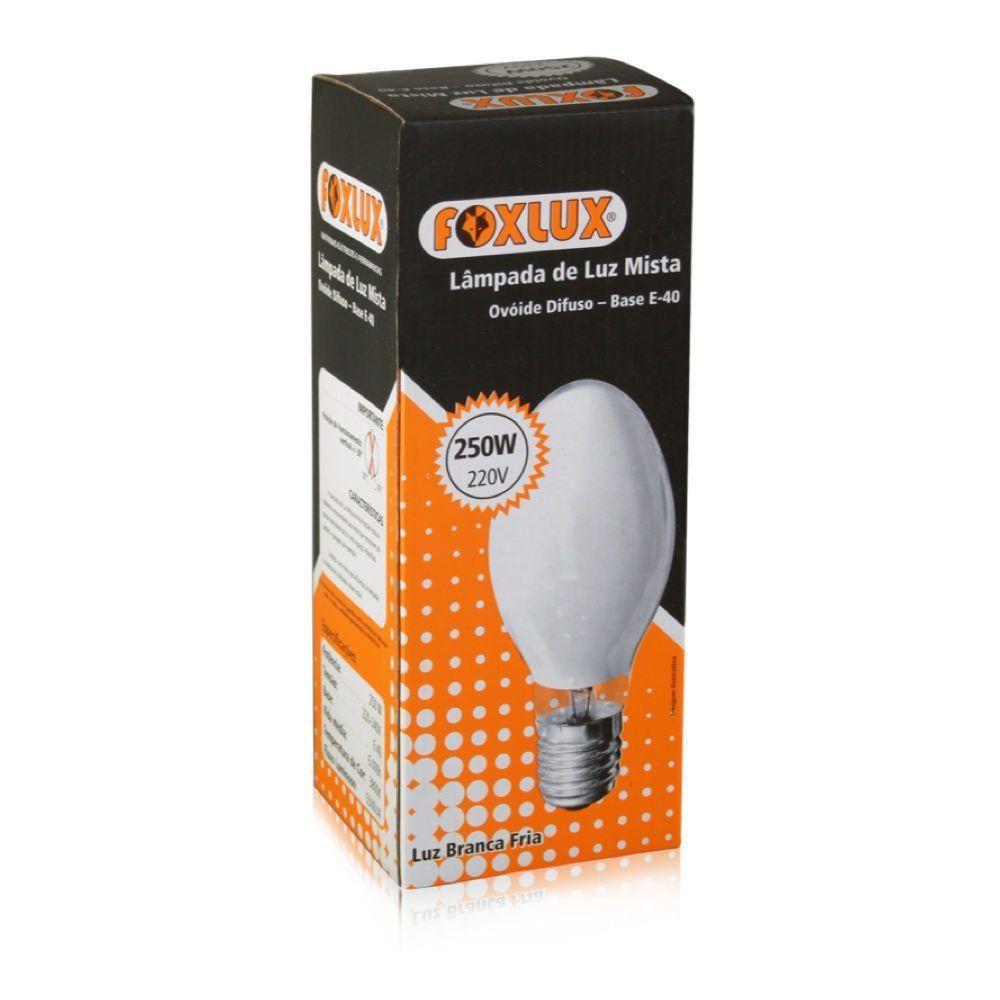 Lampada Mista 250W 220V E40 Foxlux