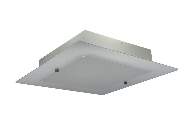Luminária de Sobrepor Quadrado Alagoas Lm202/2  Branco Nacional