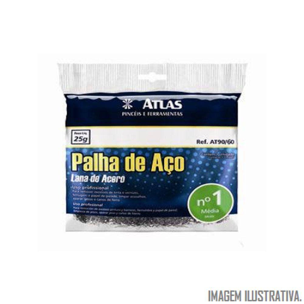 Palha De Aço N 0 At90/50 Atlas