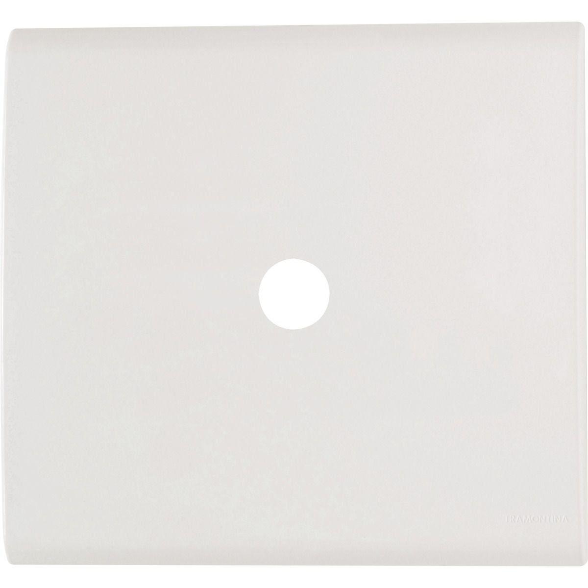 Placa 4X4 1 Furo 9,5Mm Bco 57106/022 Tramontina