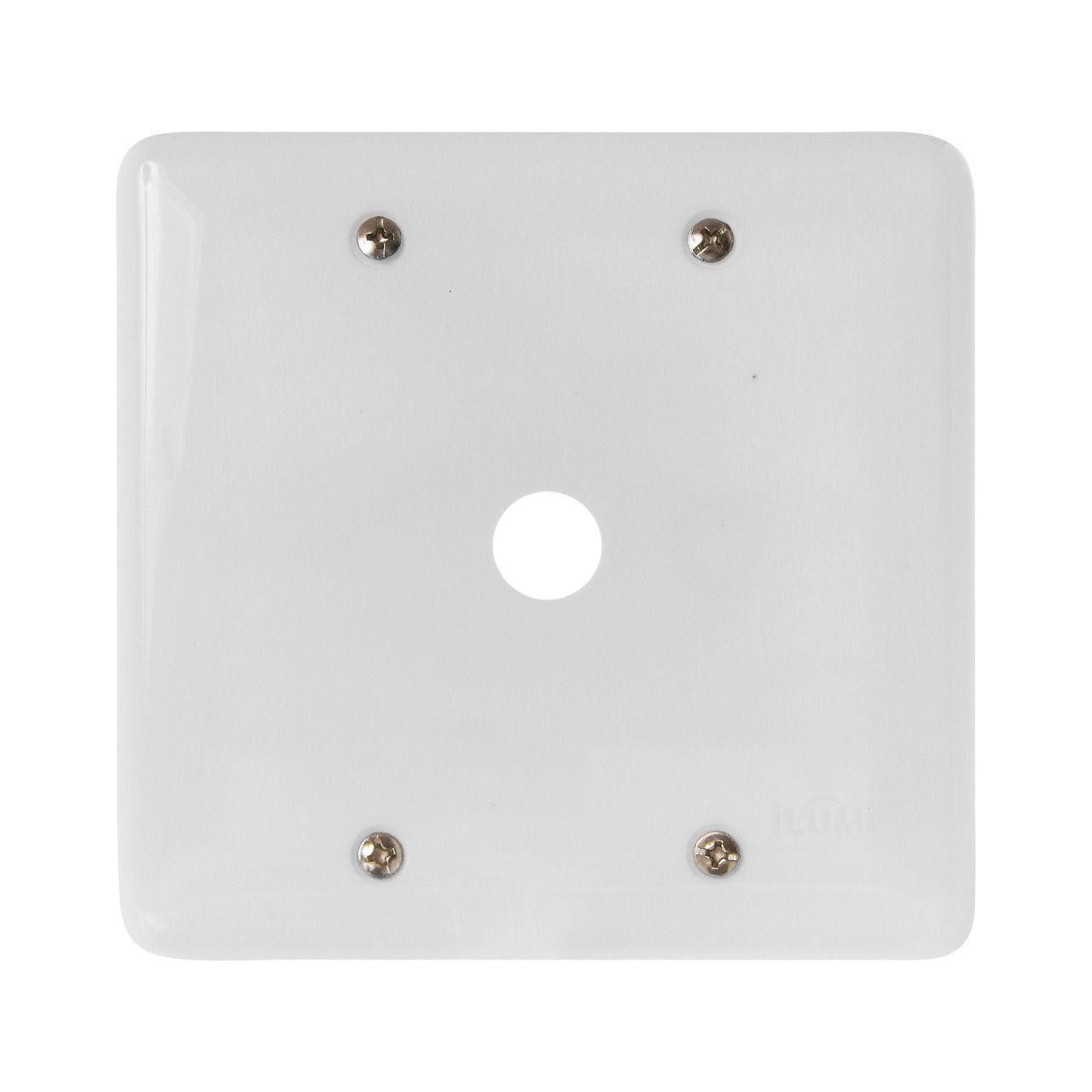 Placa Stylus 4X4 Com Furo 245B Ilumi