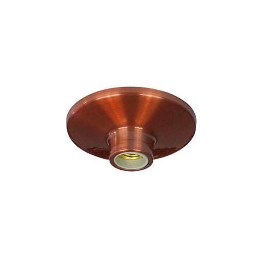 Plafonier Turquia Em Alumínio Cobreado  E27 Kin