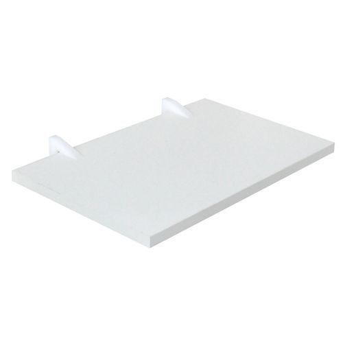 Prateleira Em MDF Clean Line 25X80cm Branca D-Core