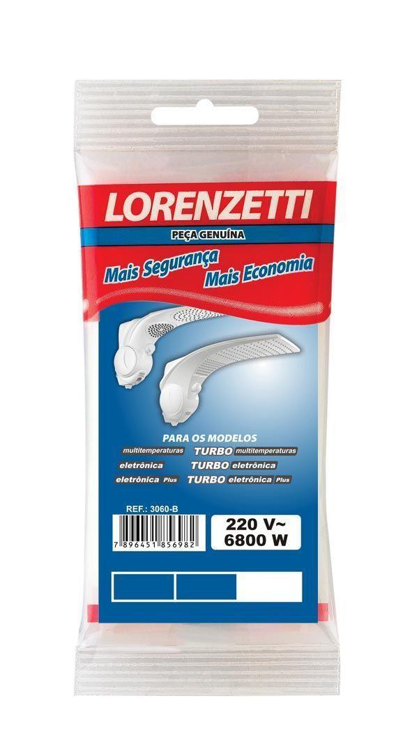 Resistência Para Ducha Duo Show 6800W 220V 3060-B Lorenzetti