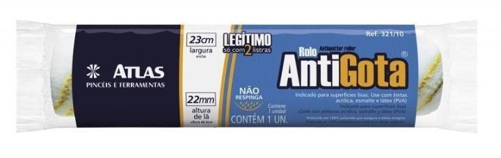 Rolo Anti-Gota 23cm 321/10 Atlas