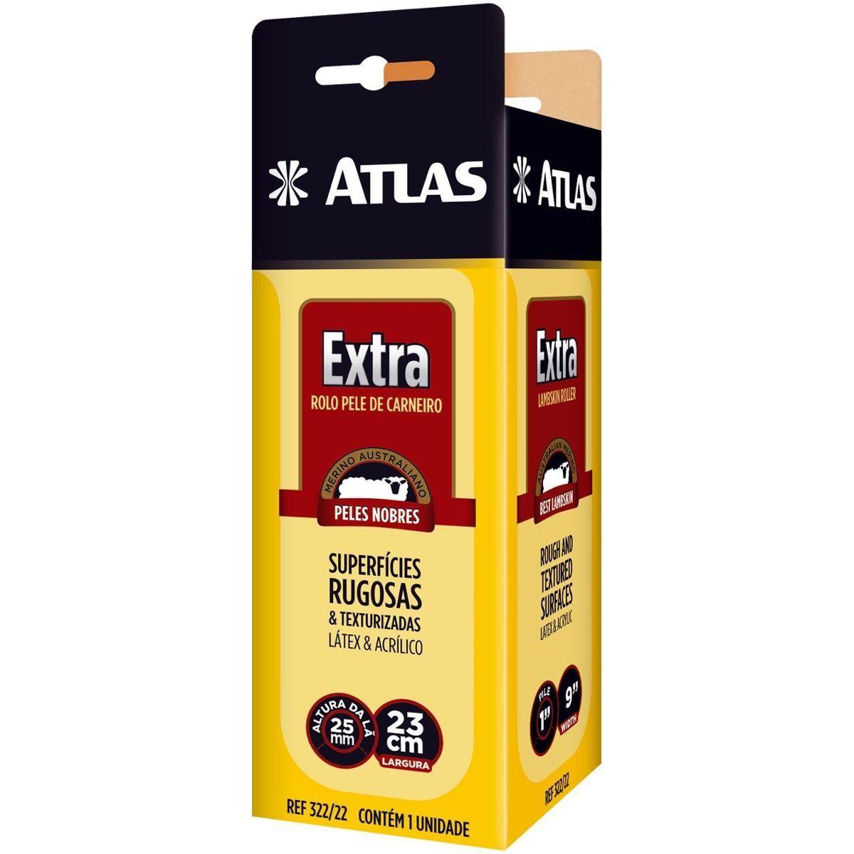 Rolo de Pele Extra 23cm Atlas