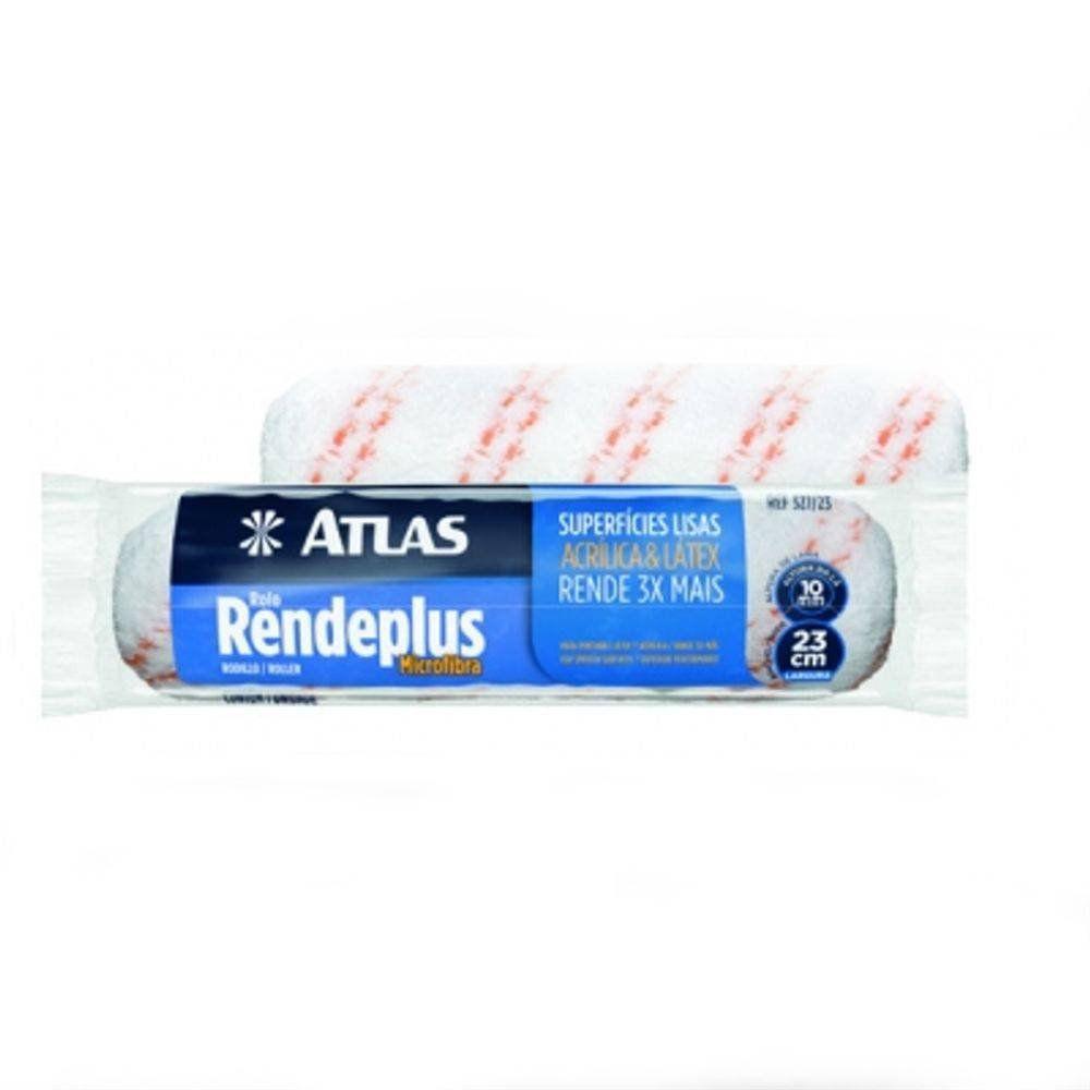 Rolo Rendeplus Microfibra 10mm x 23cm Atlas
