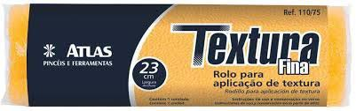 Rolo Textura Fina 23cm 110/75 Atlas
