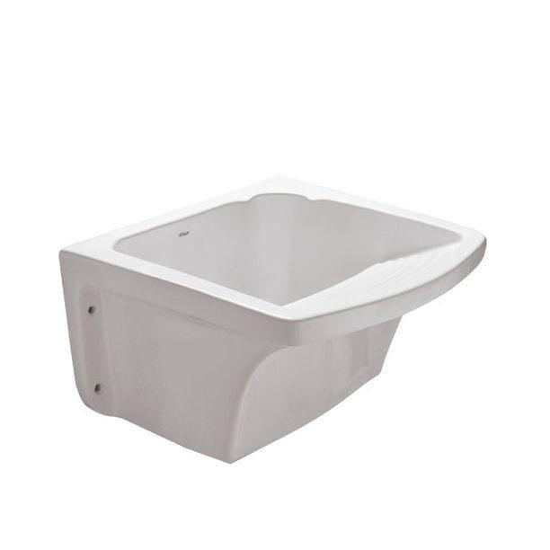 Tanque para Lavar Roupas 24 Litros Branco Fiori