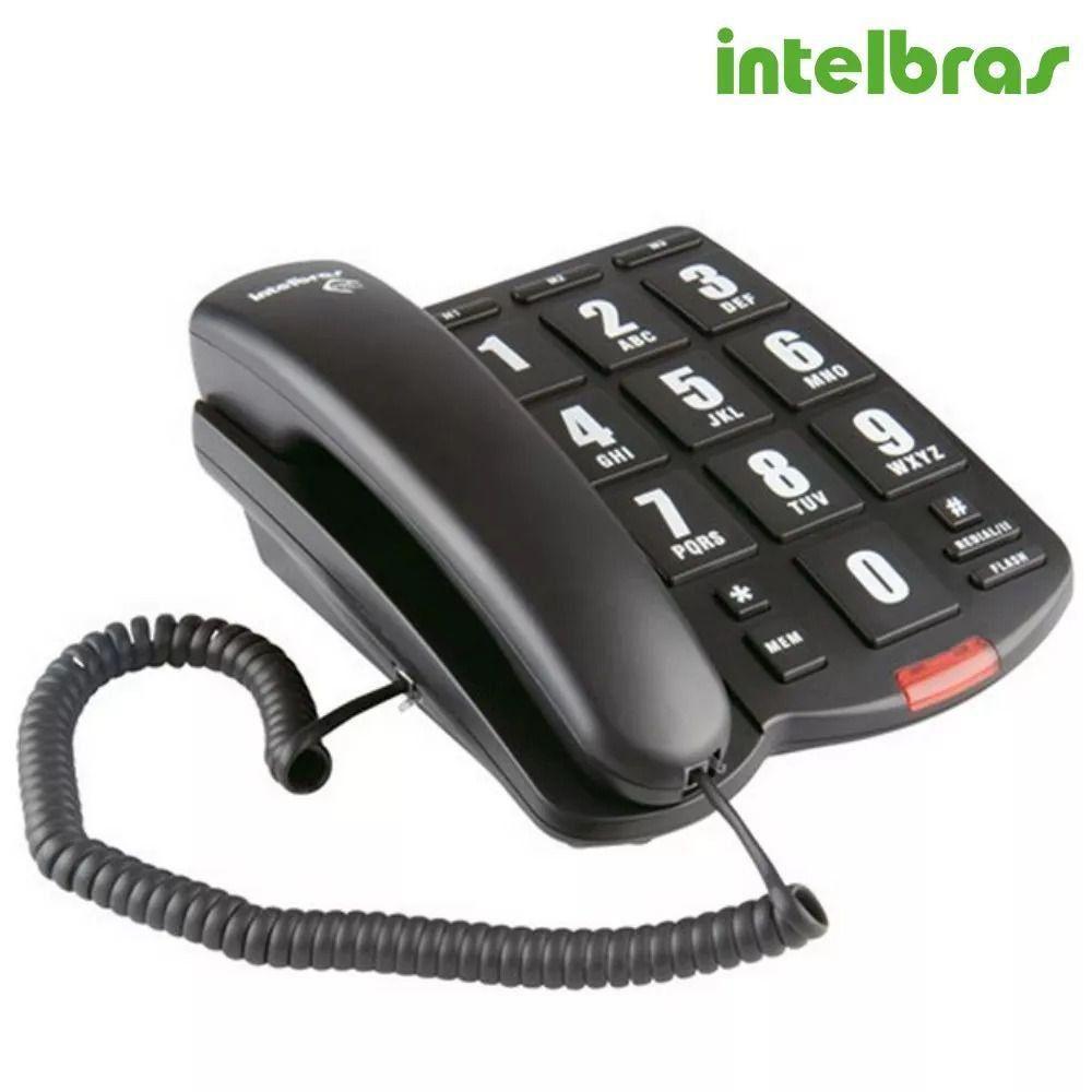 Telefone com Fio Tok Facil Intelbras