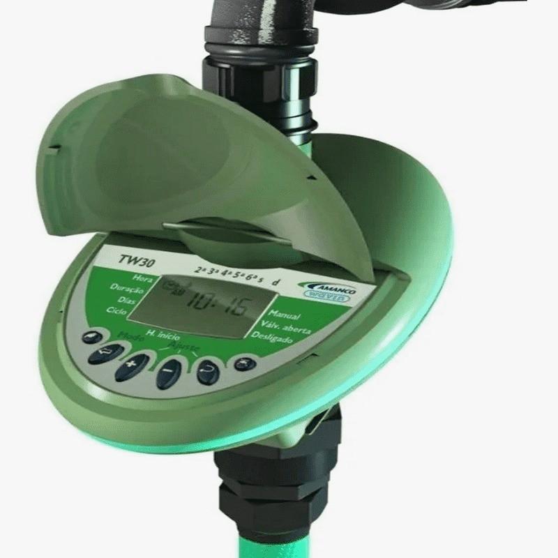 Temporizador Para Irrigação Digital TW30 Amanco