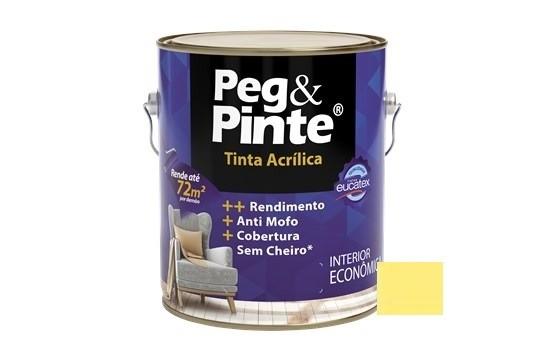 Tinta Peg&Pinte Acrílica Caju Pirangi 3,6 Litros Eucatex