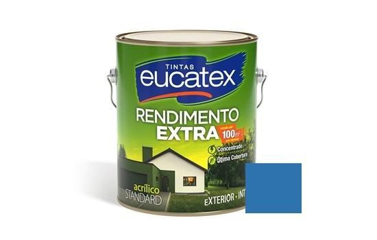 Tinta Rendimento Extra Acrílico Jeans 3,6 Litros Eucatex