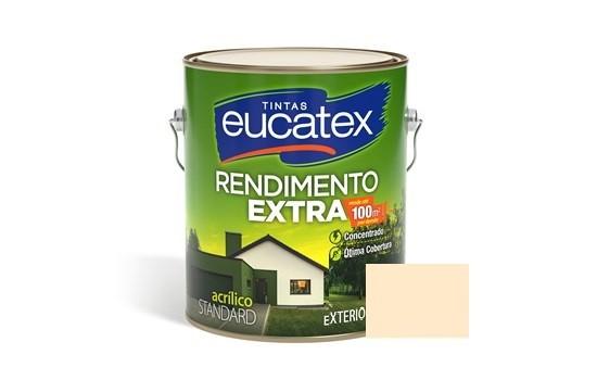 Tinta Rendimento Extra Acrílico Pérola 3,6 Litros Eucatex