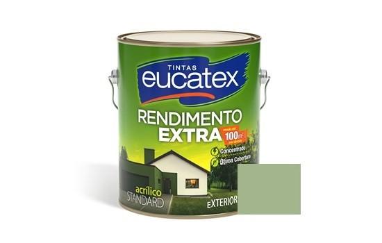 Tinta Rendimento Extra Acrílico Verde Kiwi 3,6 Litros Eucatex