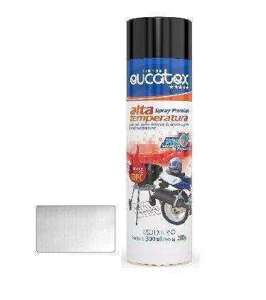 Tinta Spray Alumínio Alta Temperat Eucatex