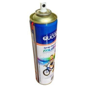 Tinta Spray Amarelo Luminoso Eucatex