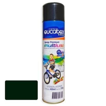Tinta Spray Verde Escuro Brilhante Eucatex