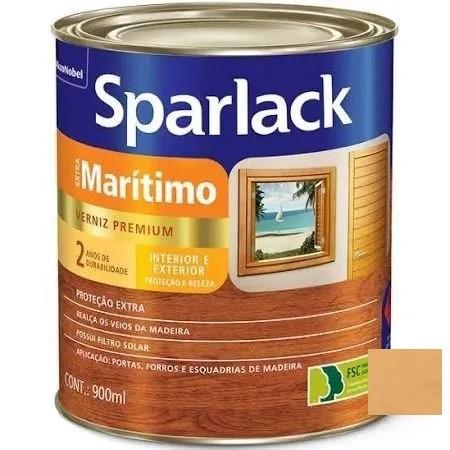 Verniz Extra Maritimo Brilhante Natural 3,6 Litros Sparlack