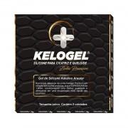 Adesivo Areolar em Gel de Silicone Kelogel 1.8mm Premium