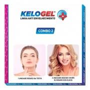 Adesivo de Silicone Antissinais 2un Olhos ou Bigode + 1 Testa Kelogel