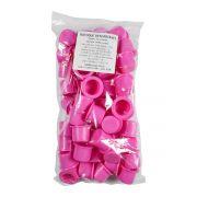 Batoque Descartável Gr Colors Rosa 50un