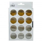 Caviar para Unhas Kit 12