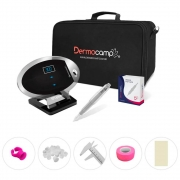 Combo Controle Digital Elipse Cristal + Dermografo Sharp 300 Pró Prata