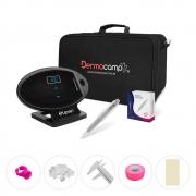 Combo Controle Digital Elipse Preto + Dermografo Sharp 300 Pró Prata