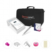 Combo Controle Digital Sirius White + Dermografo Sharp 300 Pró Prata