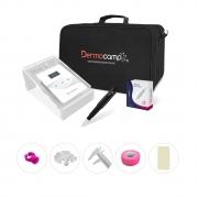 Dermografo Sharp 300 Pró Preto + Controle Digital Sirius White