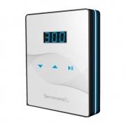 Combo Controle Slim White Preto + Sharp 300 Pro Prata