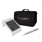 Conjunto Controle Digital Sirius Dark + Dermografo Sharp 300 Pró Prata