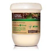 Creme de Massagem D'Água Natural Cafeína 7 Ativos 650g