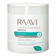 Creme de Massagem Raavi Arnica Fitness 500g