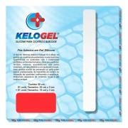Fita Adesiva Kelogel em Gel de Silicone para Cicatriz 50x3cm (35cm+15cm)