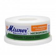 Fita Micropore Missner 1,2cmx10m
