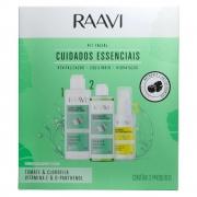 Kit Facial Raavi para Cuidados Essenciais