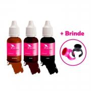 Kit Pigmento RB Kollors 15ml Universal + Jambo + Blond