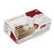 Luva Unigloves Látex Sem Pó Conforto Premium Quality