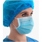 Máscara Tripla ProtClean Proteção Bacteriana Com Elástico 50un