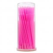 Microbrush Alongamento de Cílios 2.5m 100un Rosa